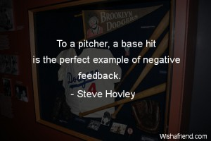 Steve Hovley negative feedback