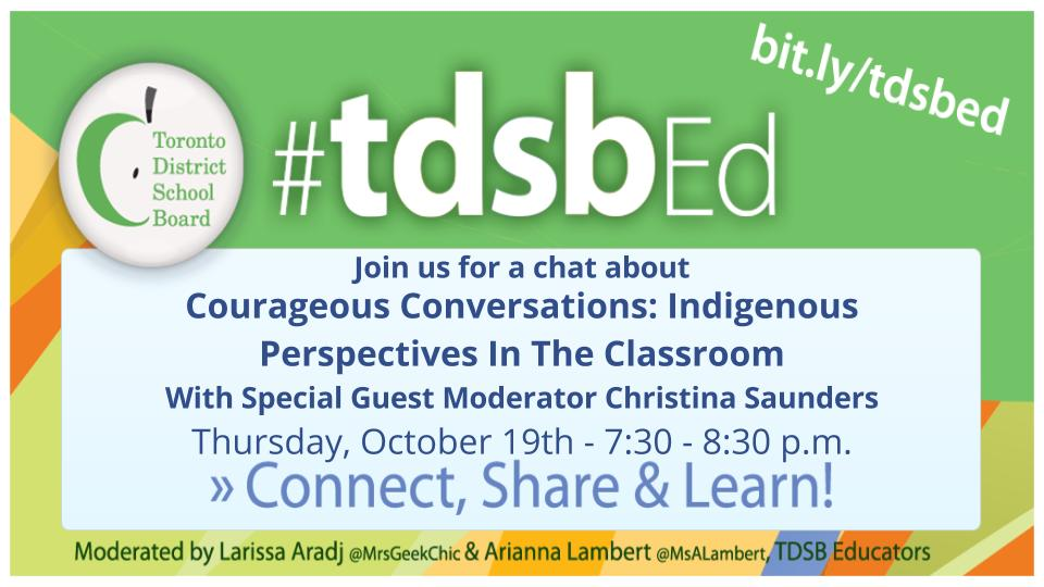 Courageous Conversations- Indigenous Perspectives In The Classroom