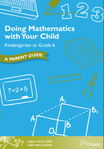 Doing Mathematics with Your Child