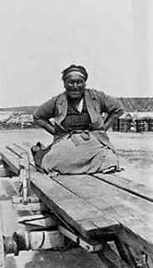 Cree Woman Norway House HBC enhanced