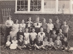 Elizabeth Ebert School second left in middle row
