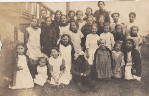 Permilla Anne Coulthard's School 4th from left