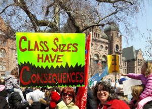 Class sizes have concequences